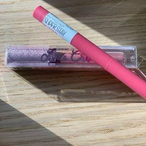 BOGO Lipstick Set, Lime Crime and Maybelline